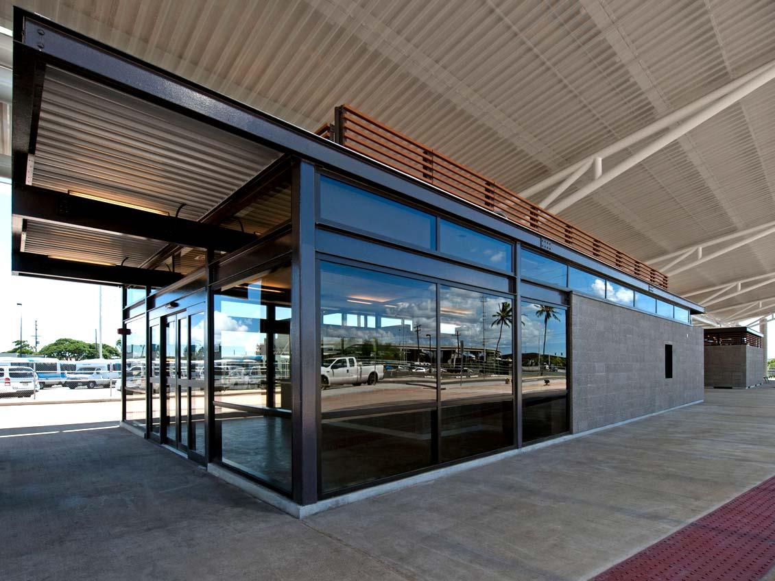 Middle Street Intermodal Center Masonry Institute Of Hawaii